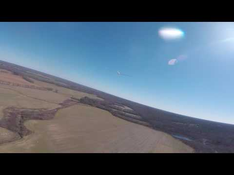 Chasing 1/3 scale glider @ Hanover RC