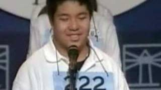 Kid Impersonates Napoleon Dynamite during Spelling bee