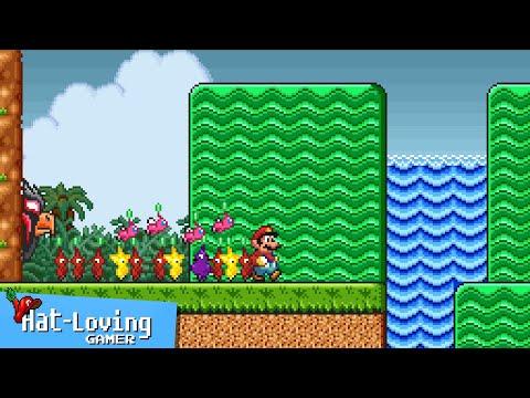 Pikmin... in Super Mario Bros 2!