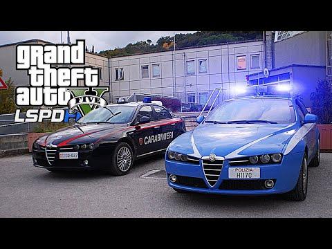 GTA 5 - LSPDFR LIVE - le FORZE DELL'ORDINE! (Polizia, Carabinieri, SWAT...)