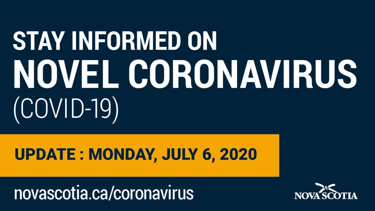 Update COVID-19 for Nova Scotians: Monday July 6