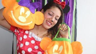 Calabazas de Mickey y Minnie para Halloween Perú