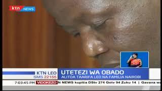 Gavana Okoth Obado azungumza na wanahabari kuhusu kesi ya Sharon Otieno