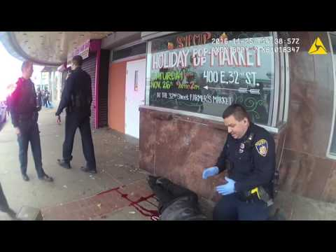 Baltimore Police shoot Black Man at 33rd & Greenmount 10/26/16 *TRIGGER WARNING*