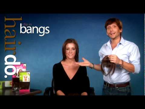 How to with Ken Paves & the Amazing Clip-in Bangs!
