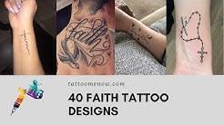 40 FAITH TATTOO DESIGNS