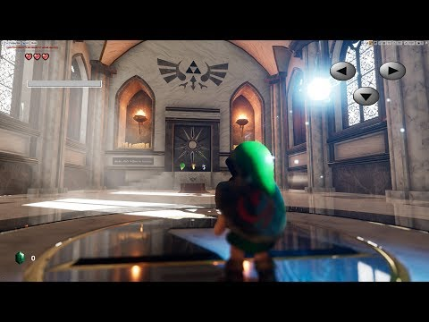 Unreal Engine 4 [4.19] Zelda Ocarina Of Time / Temple of Time HD + Download link