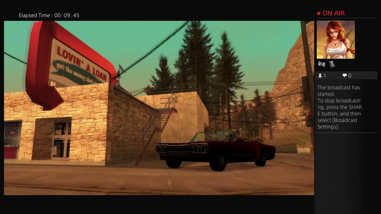 GTA San Andreas PS4 PRO NO CHEATS - PopList Online