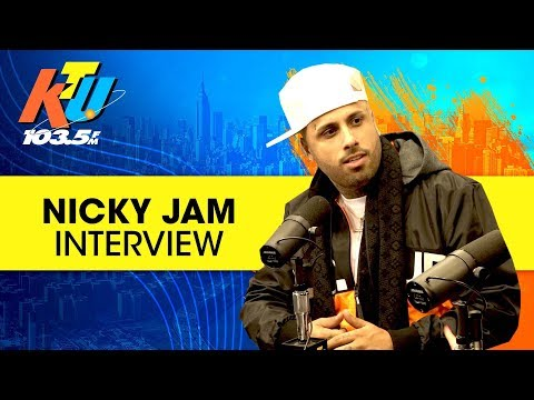 "Nicky Jam talks new song ""X"", Bromance With J. Balvin + His Netflix Series"