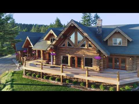 Luxury Log Home Idaho