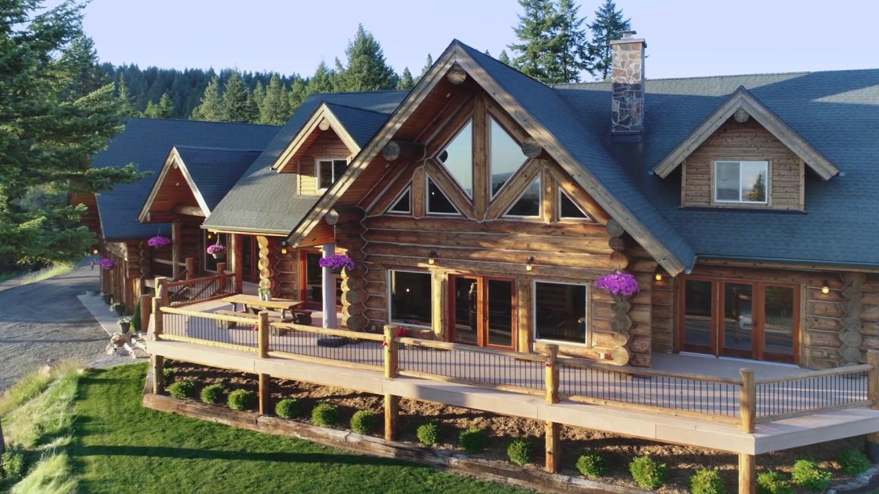 Luxury Log Home Idaho