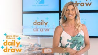 Daily Draw $500 Winner with Trish Suhr | July 16th, 2018 | Game Show Network