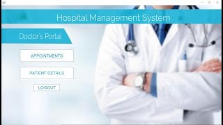 Java mini project hospital management system with source code mysql