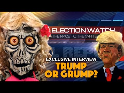 Achmedina The Hot Terrorist Interview: Trump or Grump? | JEFF DUNHAM