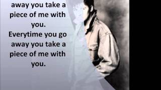 Paul Young -Everytime you go away with lyrics