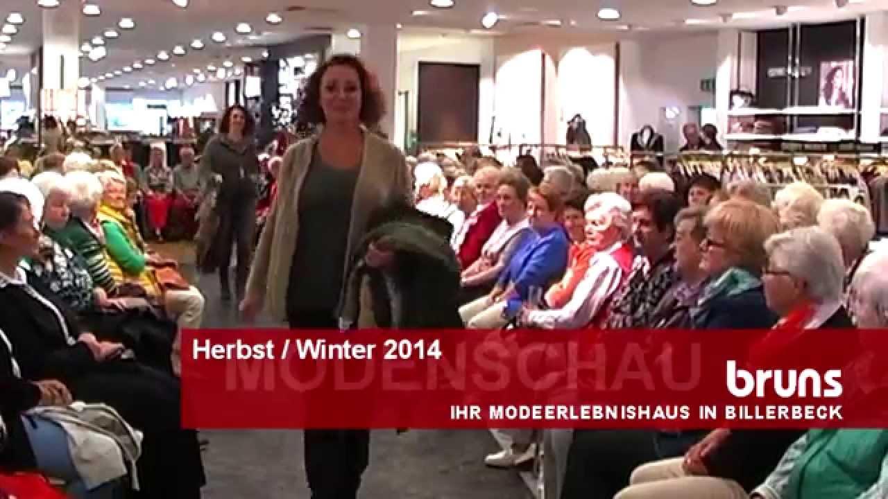 Herbst- / Winter-Modenschau 2014 - Modehaus Bruns