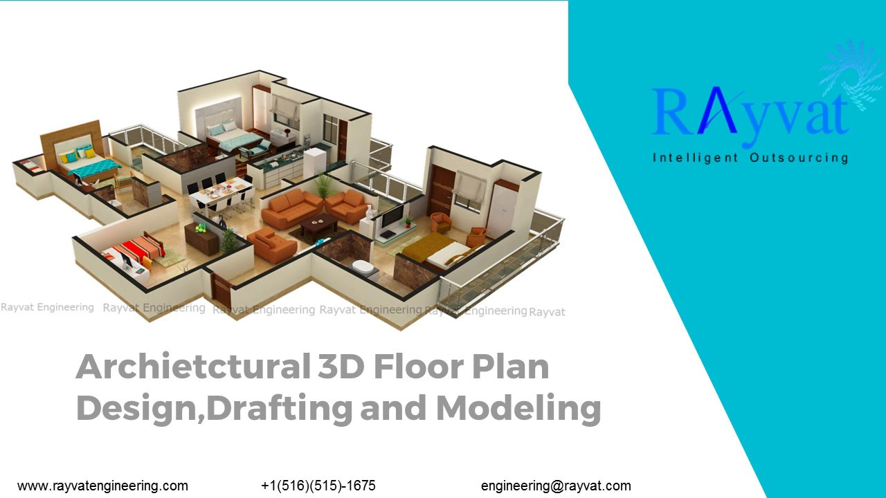 Architectural 3D Floor Plan Design,Drafting And Modeling