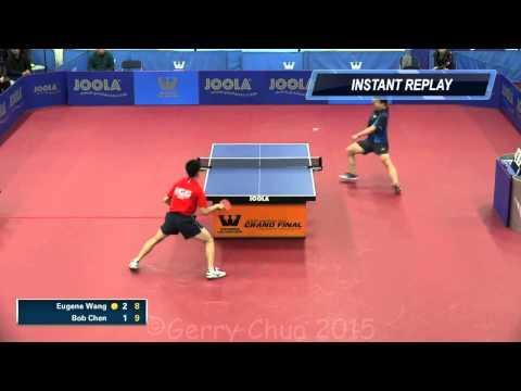 Eugene Wang vs Bob Chen  Finals