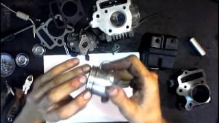 Як правильно поставити кільця на поршень мопед Дельта Альфа
