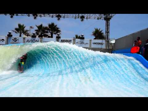 Flowrider Tour Contest on the Flow Barrel Wavehouse SD pt 3