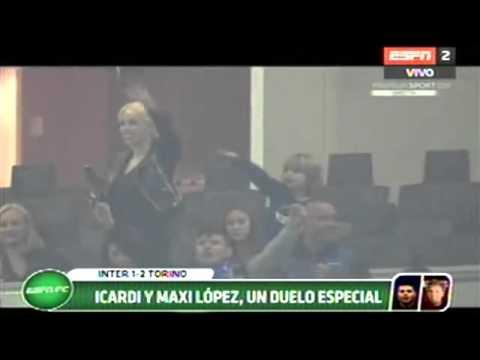 Festejaron Gol De Mauro Icardi SIN CODIGOS | Wanda Nara Y El Hijo De Maxi Lopez | Inter 1 Torino 2
