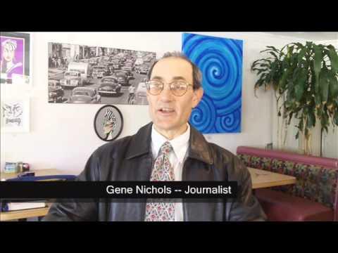 KIWANIS-PALM SPRINGS-SPEAKER -- Gene Nichols, Journalist