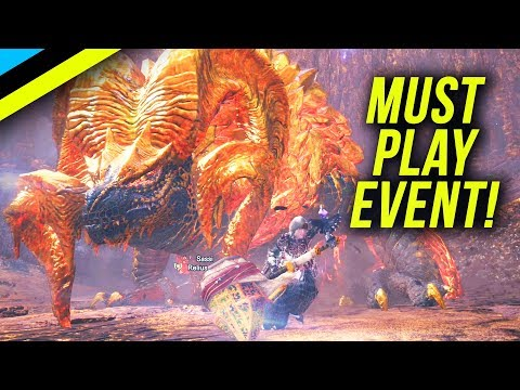 MONSTER HUNTER WORLD: Why You Need To Play The Kulve Taroth Event! How To Get Relic Weapons