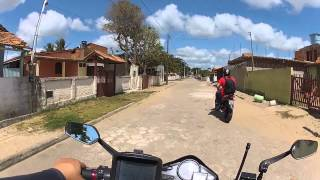 CB300 DE RJ A BA, PERDIDOS EM MUCURI BA, PARTE6