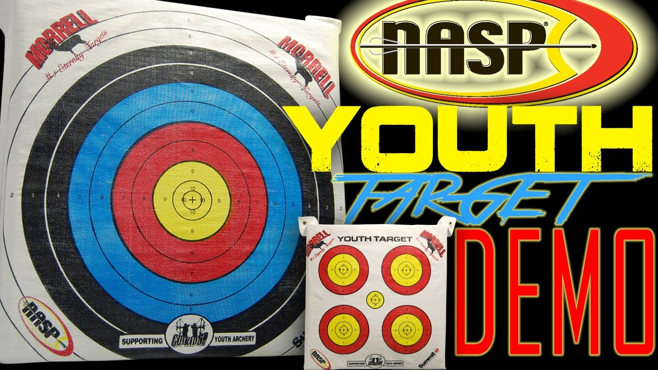 Nasp Youth Field Point Archery Bag Practice Target By Morrell