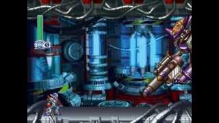 Mega Man X4 (X) - Final Weapon Stage 2: No Damage