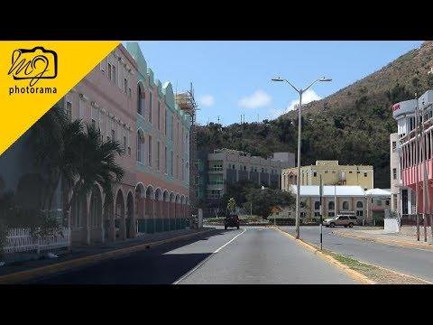 Driving Around Road Town, Tortola, British Virgin Islands 20