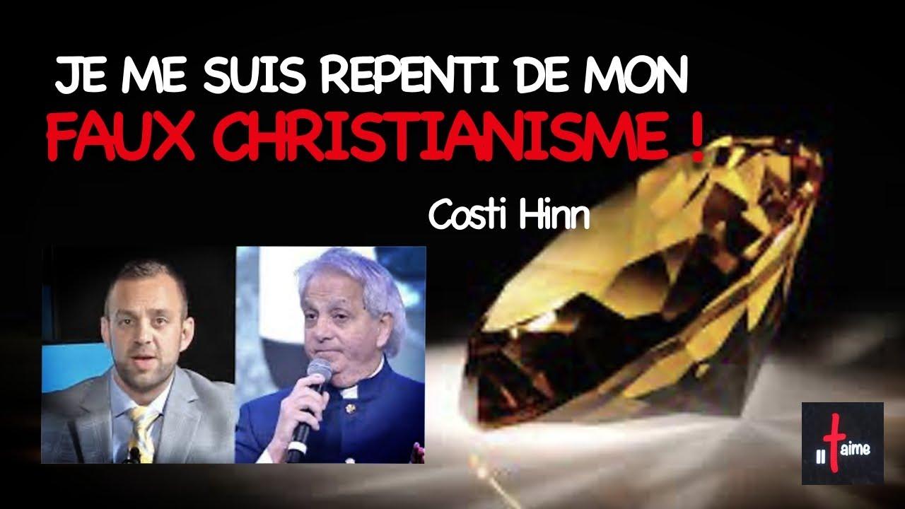 JE ME SUIS REPENTI DE MON FAUX CHRISTIANISME !
