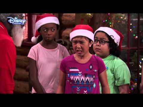 Bunk'd | Secret Santa | Official Disney Channel UK
