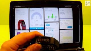 Подробный обзор фитнес-браслета Garmin Vivofit 2