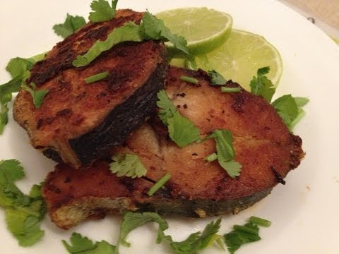 Seer Fish Fry - Fish Fry - Arabian Fish Fry - Middle Eastern Recipes
