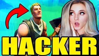 Hacker Wins in Fortnite - CAUGHT ON STREAM! *CRAZY ENDING*