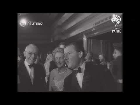 LONDON: BRITISH FILM PREMIERE (1956)
