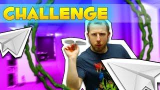 PAPER PLANE BATTLE CHALLENGE!