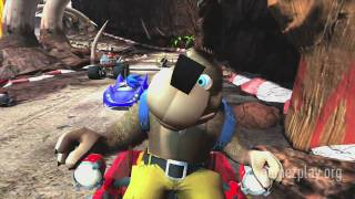 Sonic & Sega All-Stars Racing Banjo Kazooie official [HD] Xbox 360 video game trailer