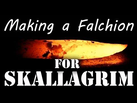 Making a Falchion for Skallagrim - Part 1