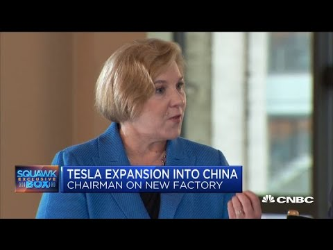 Watch CNBC's full interview with Tesla Chairman Robyn Denholm