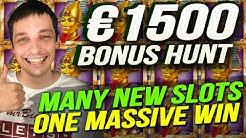TRIPLE BONUS HUNT RESULTS - MANY NEW SLOTS, BIG WINS!