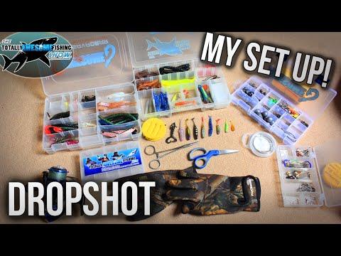 Dropshotting Set Up - Everthing You Need To Know! | TAFishing