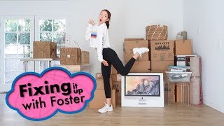 MOVING DAY! EP. 8 Fixing it Up with Foster