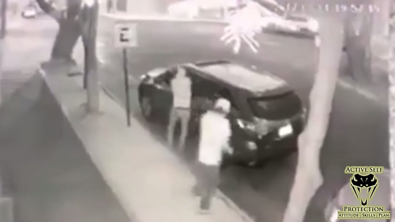 Carjacking Attempt Fail Caught On Camera Active Self Protection