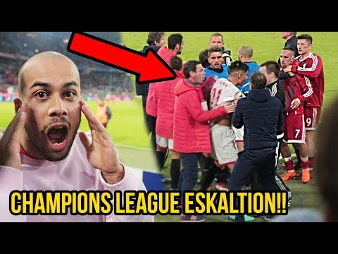 Champions League Eskalation im Stadion FC Bayern VS Sevilla!!