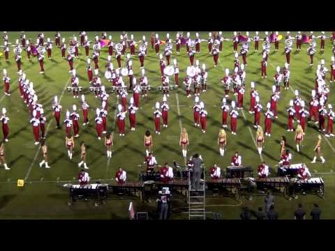 University of Alabama Million Dollar Band October 2013