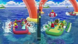 SUPER MARIO PARTY 2018 Minigames  Mario vs Peach vs Dry Bones vs Hammer Bro マリオパーティ2018ミニゲーム2