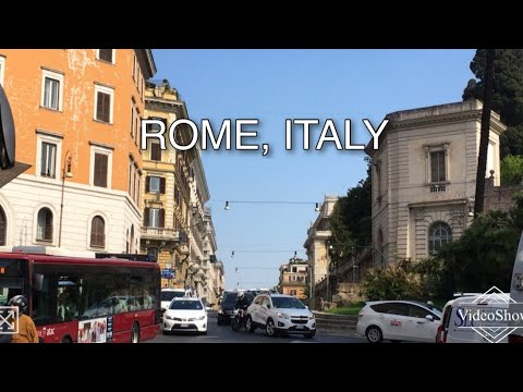 Exploring Rome in a Cab | ROME | ITALY