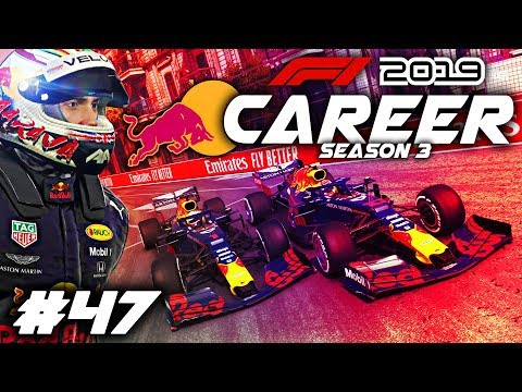 F1 2019 CAREER MODE Part 47: RED BULL CIVIL WAR! 3 ULTIMATE UPGRADES HEATS THINGS UP!